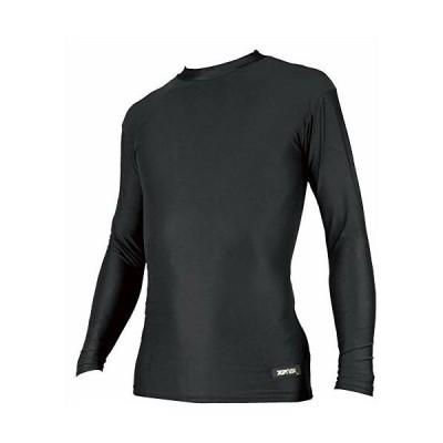 XANAX(ザナックス) 野球 アンダーシャツ ミドルネック 長袖 BUS-302 ブラック L 日本製