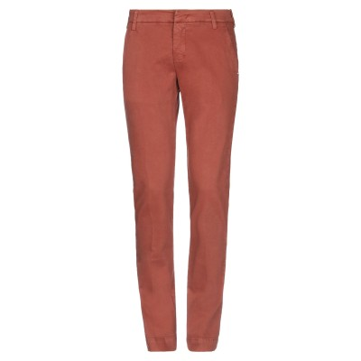 アントレ アミ ENTRE AMIS パンツ 赤茶色 30 コットン 97% / ポリウレタン 3% パンツ