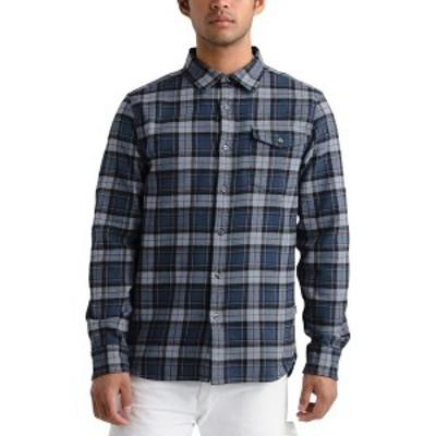 ノースフェイス メンズ シャツ トップス Arroyo Long-Sleeve Flannel Shirt - Men's Blue Wing Teal Ravine Plaid