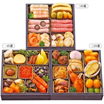 高島屋 タカシマヤ  <タカシマヤオリジナル>和洋中ミニおせち料理「春隣(はるどなり)」 三段重 三段重