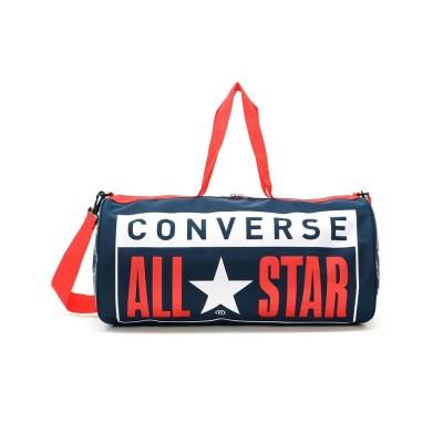 (CONVERSE/コンバース)コンバース ボストンバック CONVERSE ドラムバッグ 2WAY All Star Printed Drum Bag L ショルダー 14617400/ユニセックス ネイビー
