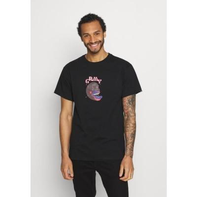メンズ ファッション RESISTANCE TEE UNISEX - Print T-shirt - black
