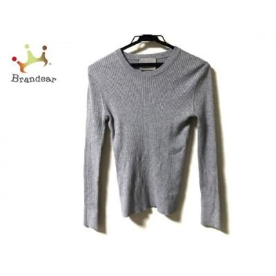 フォンデル VONDEL 長袖セーター サイズS レディース グレー   スペシャル特価 20210108