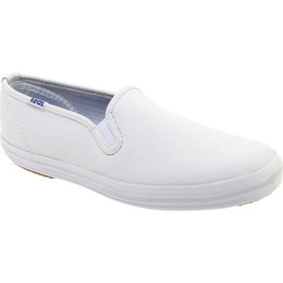 ケッズ スニーカー シューズ レディース Champion Slip On Leather (Women's) White