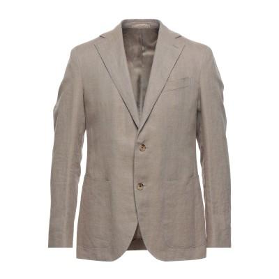 カルーゾ CARUSO テーラードジャケット ベージュ 50 リネン 56% / コットン 44% テーラードジャケット