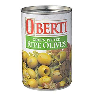 オバティ グリーンオリーブ(種抜) / 170g 世界の食材 イタリアンと洋風食材