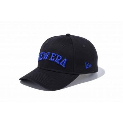 NEWERA ニューエラ 9FORTY コットンツイル NEWERA ブラック × チャウブルー メンズ 男性 レディース 女性 帽子 ハット 小物 アクセサリー  送料無料 NEW ERA