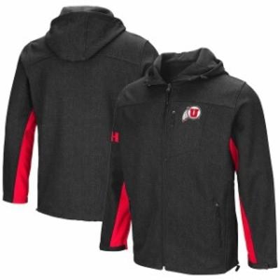 Colosseum コロセウム スポーツ用品  Colosseum Utah Utes Charcoal Gibbons Full-Zip Jacket