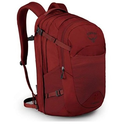 Osprey Nebula Men's Laptop Backpack, Rivet Red【並行輸入品】
