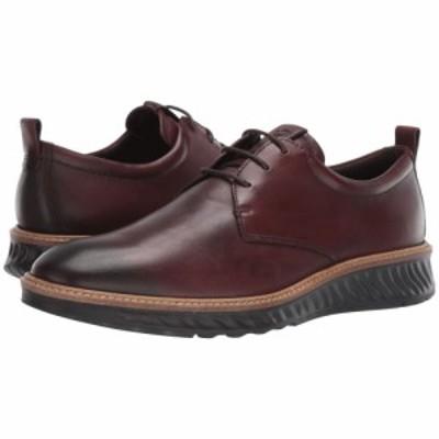 エコー ECCO メンズ 革靴・ビジネスシューズ シューズ・靴 ST1 Hybrid Plain Toe Tie Cognac