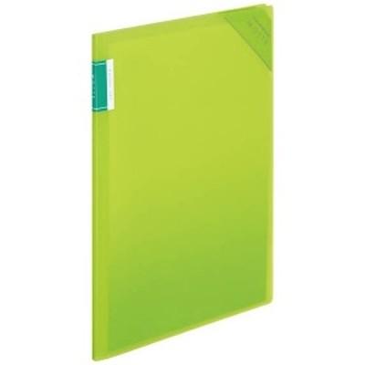[ホルダー] クリヤーホルダーブック 「モッテ」 固定式 A4縦 4ポケット クリアブック類