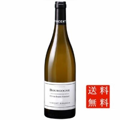 お中元 ギフト 送料無料 白ワイン ブルゴーニュ・ブラン キュヴェ・サン・ヴァンサン / ヴァンサン・ジラルダン 白 750ml 12本 フランス