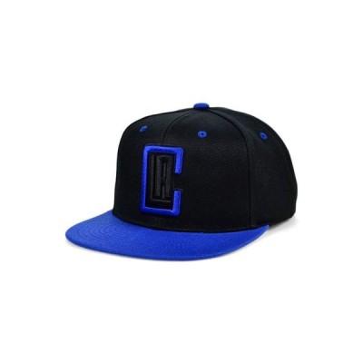 ミッチェル&ネス レディース 帽子 アクセサリー Los Angeles Clippers Black Royalty Snapback Cap