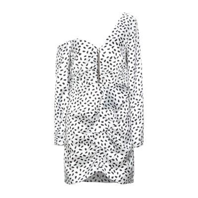 SELF-PORTRAIT ミニワンピース&ドレス ホワイト 6 ポリエステル 100% ミニワンピース&ドレス