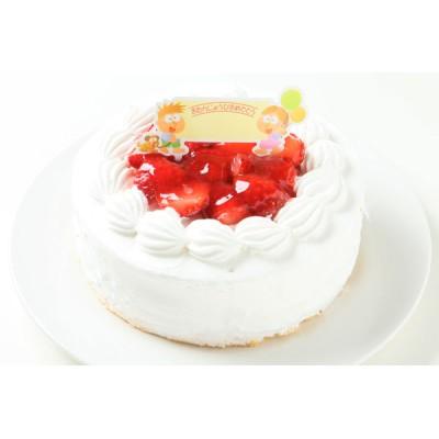 乳製品除去可能 バースデーケーキ 4号 12cm