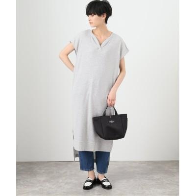 レディース ボイスフロムベイクルーズ 【Hanes / ヘインズ】1P Undies Thermal Long-Dress グレーA フリー