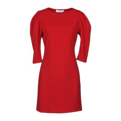 カオス KAOS ミニワンピース&ドレス レッド 42 ポリエステル 95% / ポリウレタン 5% ミニワンピース&ドレス