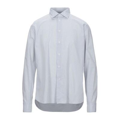 FRADI シャツ ホワイト 43 コットン 100% シャツ