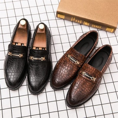 ビジネスシューズ メンズ 疲れない 防滑ソール ストレートチップ 歩きやすい革靴 ロングレッグシューズ 紳士靴 結婚式 2029
