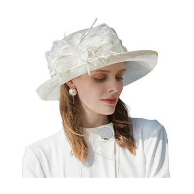 FADVES HAT レディース US サイズ: Large カラー: オフホワイト