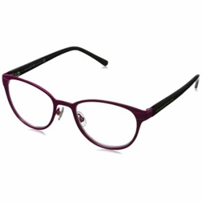 サングラス Kate Spade New York レディース Ebba 楕円形老眼鏡、ピンクブラック/クリア、50 mm + 1