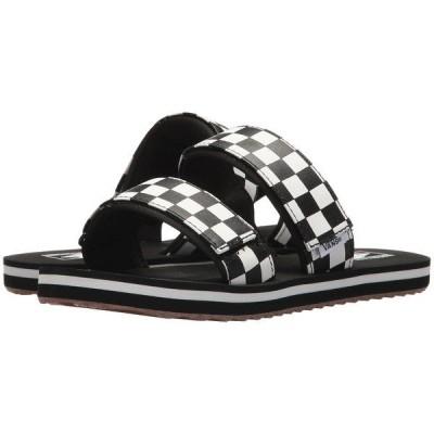 バンズ サンダル シューズ レディース Cayucas Slide (Checkerboard) Black/Marshmallow