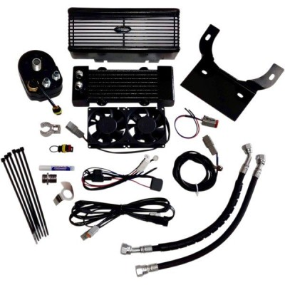 【USA在庫あり】 0713-0151 ウルトラクール ULTRACOOL OIL COOLER KIT FLH FLATBK JP店