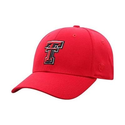 Top of the World テキサステックレッドレイダーズ メンズ プレミアムコレクション ワンフィット メモリーフィット 帽子 チームカラー