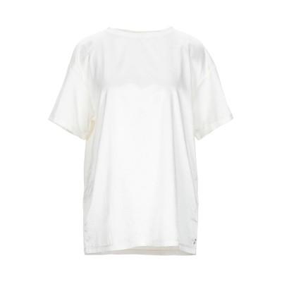 ジジル JIJIL T シャツ アイボリー 38 コットン 58% / シルク 35% / ポリウレタン 7% T シャツ