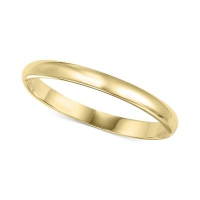 メイシーズ Macy's レディース 指輪・リング ジュエリー・アクセサリー 14k Gold 2mm Wedding Band Yellow Gold