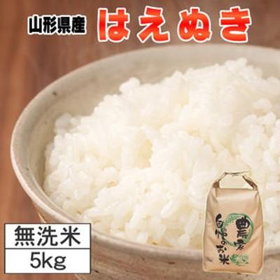 【5kg】令和2年産 山形県産 はえぬき 無洗米