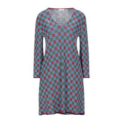 SIYU ミニワンピース&ドレス パステルブルー 38 レーヨン 100% ミニワンピース&ドレス