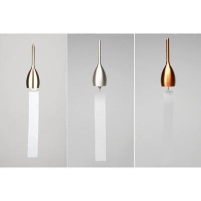 風鈴 スリム  能作 nousaku のうさく 真鍮 おしゃれ 銀色 工芸品 鋳物 贈り物 母の日