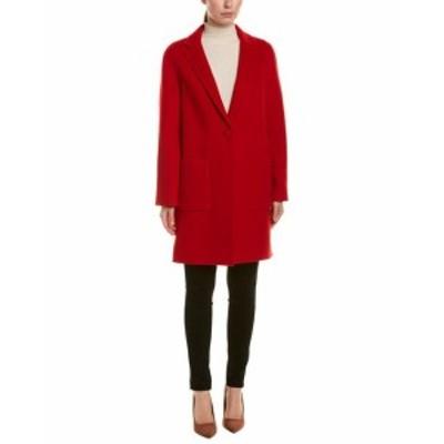 Red  ファッション 衣類 St. John Wool & Angora-Blend Jacket P Red