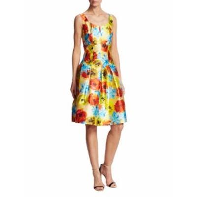 オスカーデラレンタ レディース ワンピース Floral Silk Dress