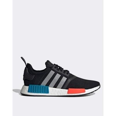 アディダス メンズ スニーカー シューズ adidas Originals NMD_R1 sneakers in black