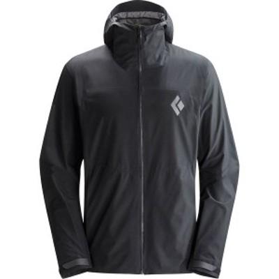 ブラックダイヤモンド メンズ ジャケット・ブルゾン アウター Liquid Point Shell Jacket Black