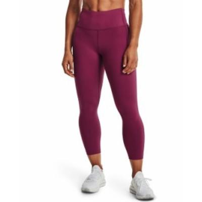 アンダーアーマー レディース カジュアルパンツ ボトムス Women's Meridian Cropped Leggings Pink Quartz