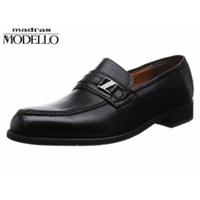 マドラス モデロ DL528 BLA ブラック 3E madras MODELLO モデーロ ビットローファー