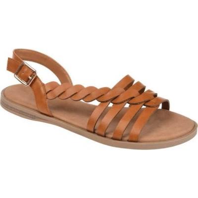 ジュルネ コレクション レディース サンダル シューズ Solay Flat Strappy Sandal