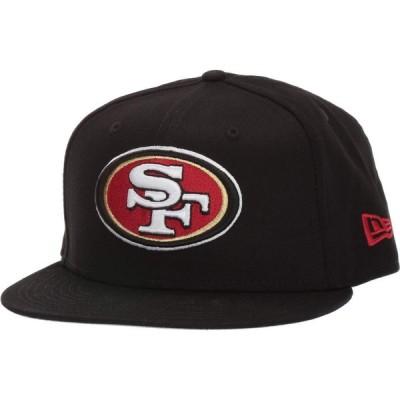 ニューエラ New Era メンズ キャップ 帽子 9FIFTY NFL Basic Snap San Francisco 49ers Black