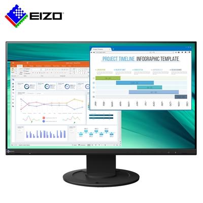 EIZO FlexScan EV2460 黑色 24型/低藍光低閃頻護眼/薄邊框