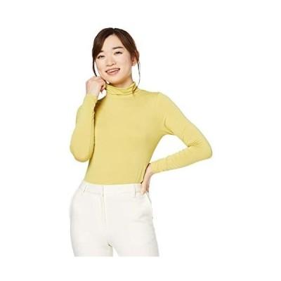[セシール] Tシャツ レギュラー丈 スマートヒート ルーズネックTシャツ 静電気防止 吸湿発熱 吸汗速乾 レディース