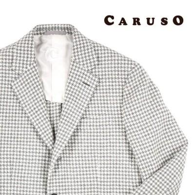 CARUSO(カルーゾ) ジャケット 260665 ホワイト 46 10984 【W10984】