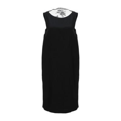 ジャンルカ・カパンノロ GIANLUCA CAPANNOLO ミニワンピース&ドレス ブラック 40 シルク 100% / ポリエステル ミニワンピ