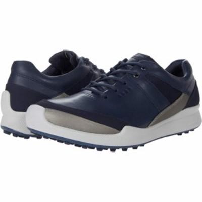 エコー ECCO Golf レディース スニーカー シューズ・靴 Biom Hybrid I Hydromax(TM) Marine/Buffed Silver/Night Sky/Yak Leather/Synthe
