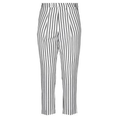 I'M BRIAN パンツ ホワイト 50 レーヨン 53% / 麻 37% / コットン 10% パンツ