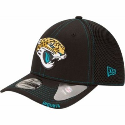 ニューエラ キャップ Jacksonville Jaguars 39Thirty Neoflex Black Stretch Fit Hat