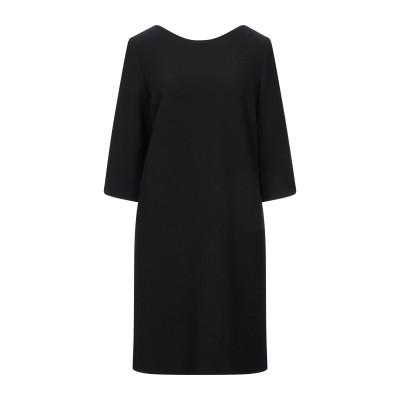 LE COL ミニワンピース&ドレス ブラック 42 ウール 98% / ポリウレタン 2% ミニワンピース&ドレス