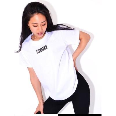 ROXY ロキシー Tシャツ レディース 半袖 スポーツ カジュアル 綿 100% おしゃれ ブランド BOX ROXY RST211068